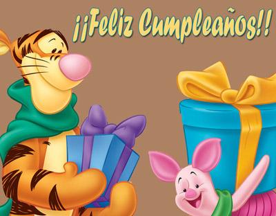 Postal de Feliz cumpleaños