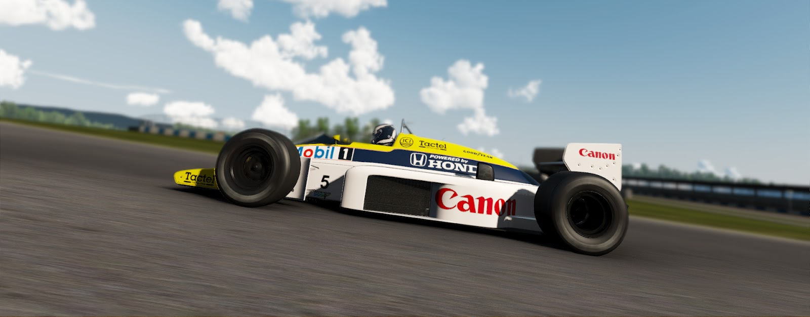 Screenpassion Williams Fw11 Honda