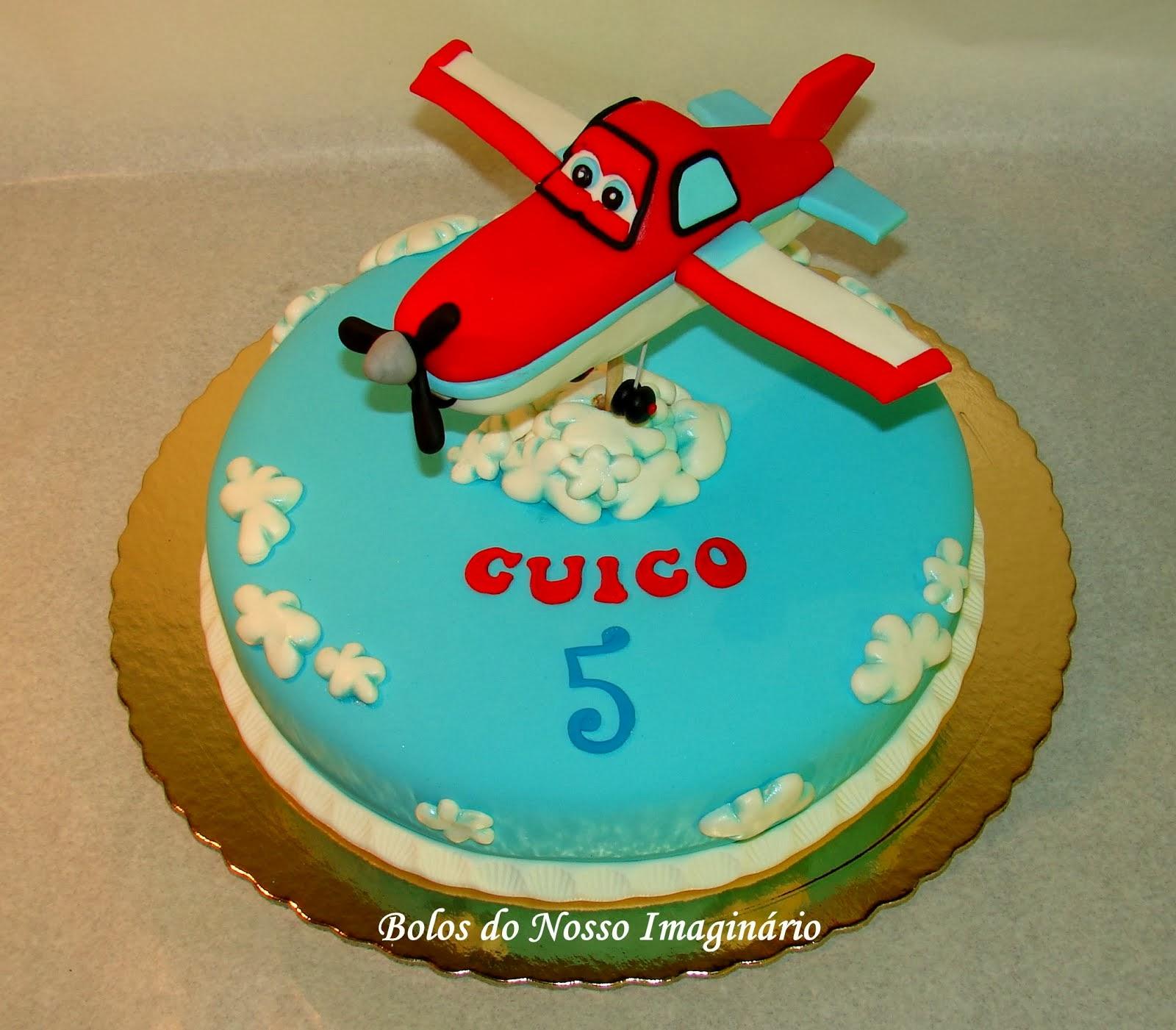 Bolo Aniversário Filme Aviões