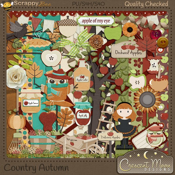 Country Autumn by Crescent Moon Designs
