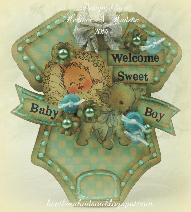 vintage collage baby sheets comic, serene