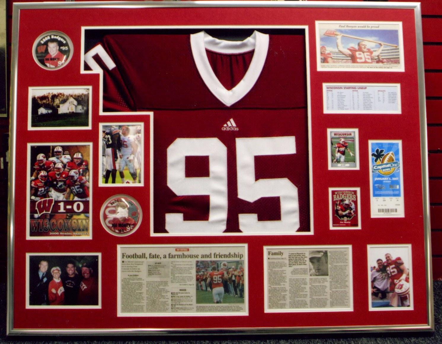 Miami Sports Memorabilia Picture Framing