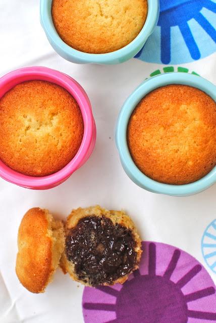 sommar, muffins, månadens sötsak, söta saker, choklad, recept, matblogg, muffins med chokladkräm