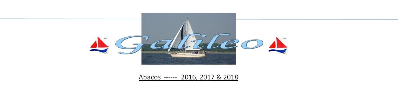 Galileo  -----  Abacos 2016 - 2017 - 2018