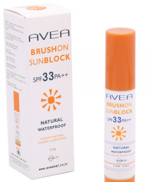 Avea Brush on Sunblock