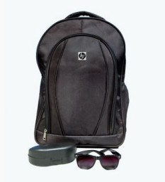Buy Combo of HP Laptop Bag and Stylish Wayfarer at Rs.501 + 5% off