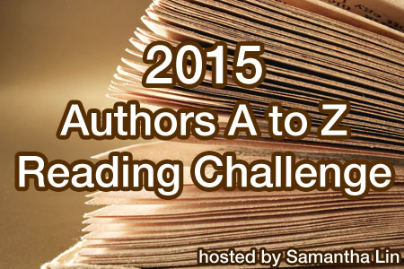 2015 Authors A-Z Reading Challenge