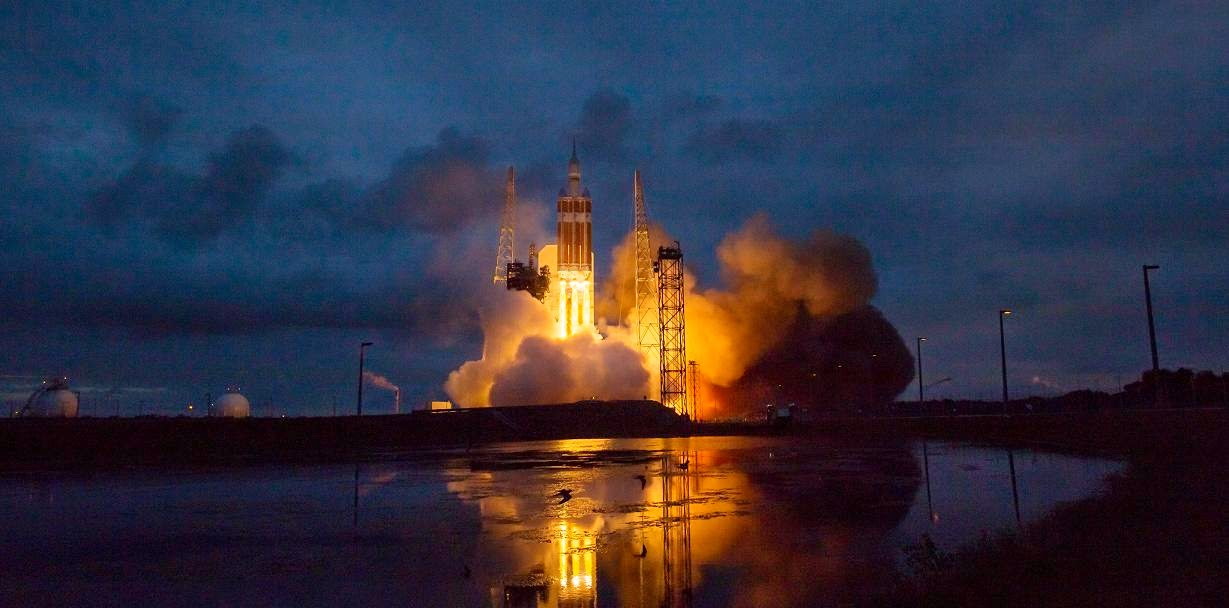 Delta IV launch with Orion spacecraft on Dec. 5, 2014. Credit: NASA