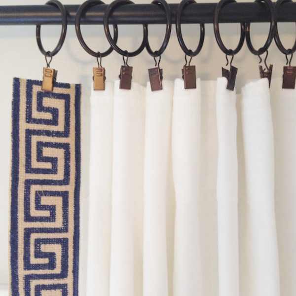 Hanging Curtains With Clip Rings - Rooms