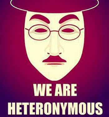 WE ARE HETERONYMOUS