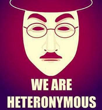 WE ARE HETERONYMOUS