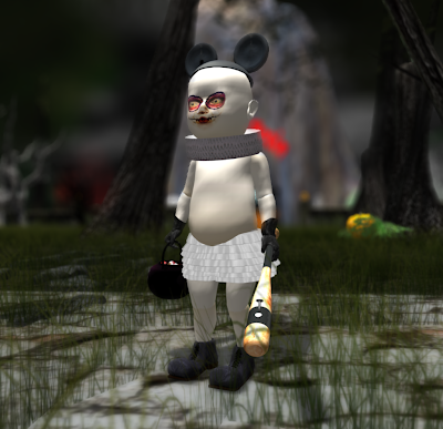 Halloween Evil Baby in Second Life