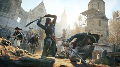 Assassins Creed Unity Combat Ubisoft