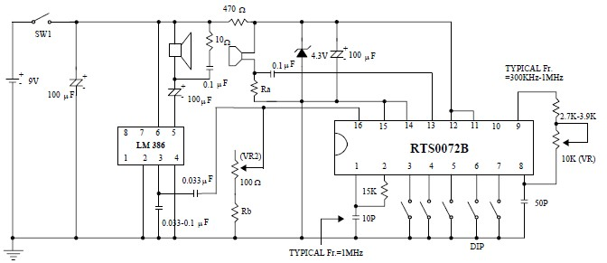 rts0072b voice changer circuit project designed circuit and rh alectronicscircuits blogspot com