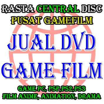 Jual dvd game film anime murah