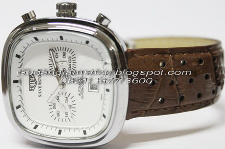 tag heuer silverstone leather brown jam tangan tag heuer kw1