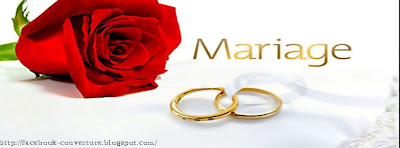Couverture facebook sur mariage