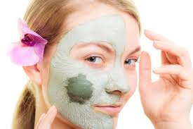 how to apply the clay mask