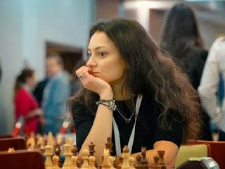 Echecs : la Russe Aleksandra Kosteniuk aux Championnats d'Europe d'échecs par équipe de Varsovie - Photo © site officiel