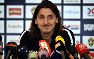 Ibrahimovic in conferenza stampa