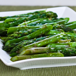 Kalyn's Kitchen®: Barely-Cooked Asparagus with Lemon ...