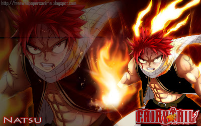 Fairy Tail Natsu New Pictures Collections 3