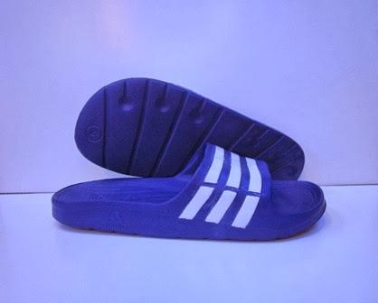 Sandal Adidas Duramo blue,Sandal Adidas Duramo biru murah,