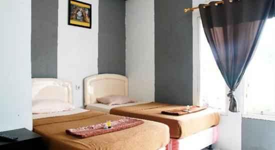 Kamar Tidur The Yonan Hotel Puncak Bogor