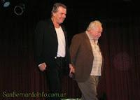 Víctor Laplace y Julio César Lester en el Teatro Auditorio