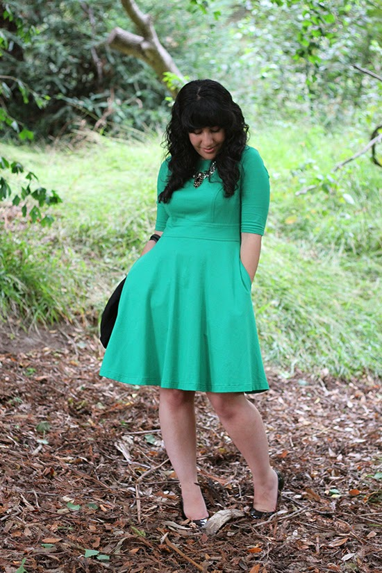 eShatki Fit and Flare Dress