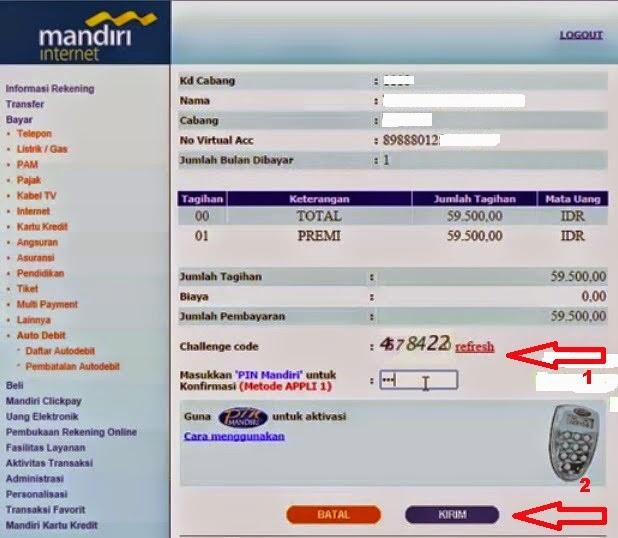 UPDATE CARA BAYAR BPJS VIA IBANKING MANDIRI - AbuazmaShare