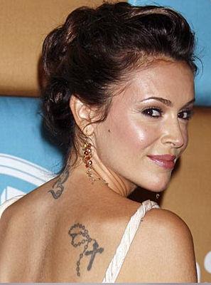 Alyssa Milano Tattoos And Meanings - Style Slum