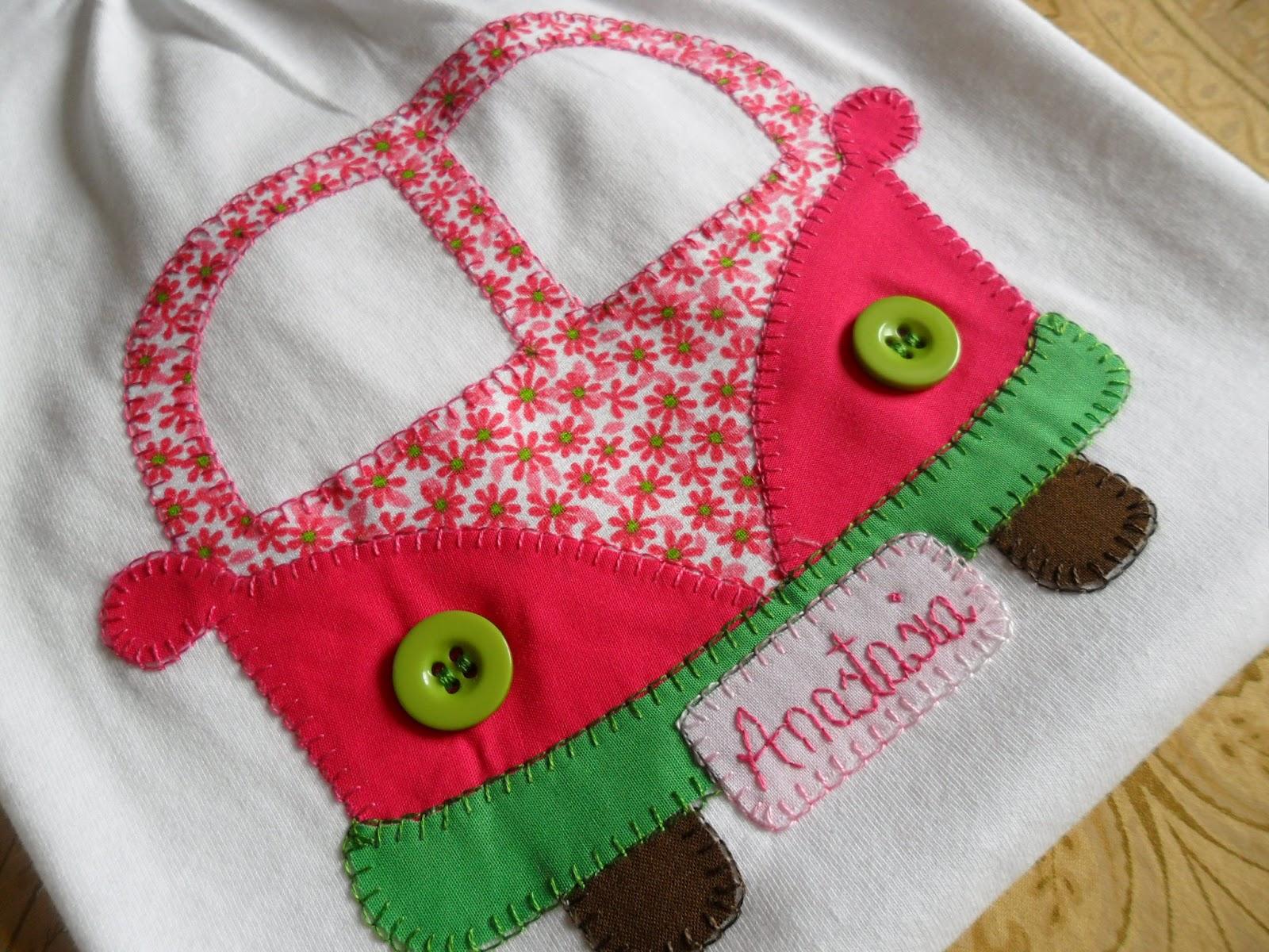 La sastrecilla valiente camiseta personalizada furgoneta for Aplicaciones decoradas