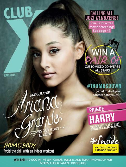Actress, Singer @ Ariana Grande - Club X USA, June 2015