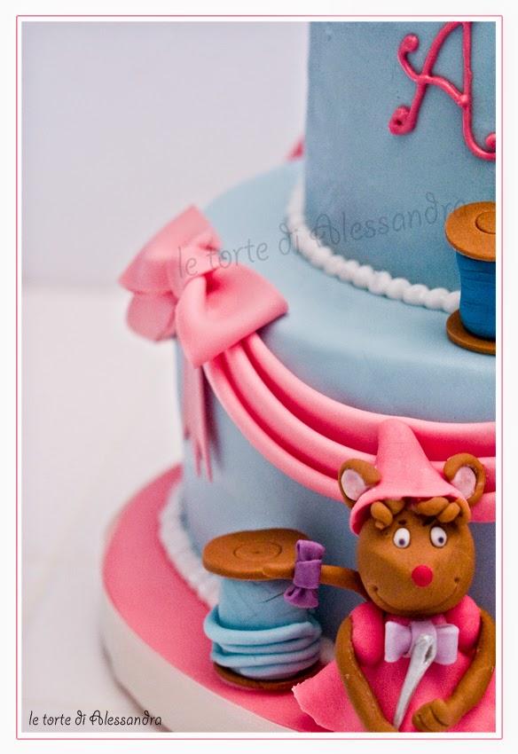 Le torte di alessandra la torta di cenerentola per arianna for Decorazione torte ginnastica ritmica