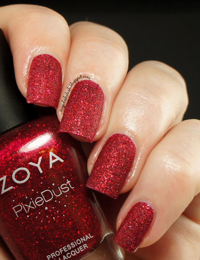 textured nail polish Holidays