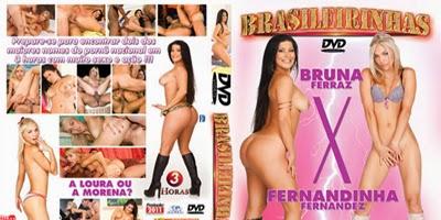 DVD Bruna Ferraz x Fernandinha Fernandes - Brasileirinhas