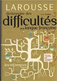 Dictionnaire des difficultés Larousse