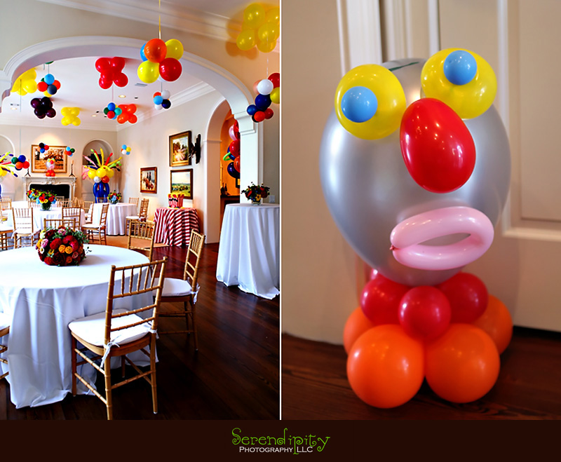 Home decorations for birthday party home decorations for Balloon decoration ideas for 1st birthday party