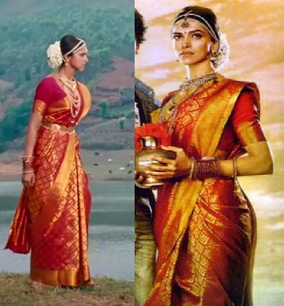 Curly Fries: BOLLYWOOD ISHTYLE: Deepika's Vibrant Sarees ...