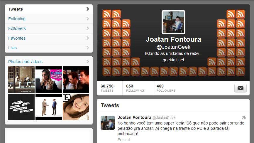 twitter foto perfil crianca joatan fontoura 2013