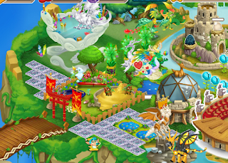 Tips cara cepat naik level di game Dragon city