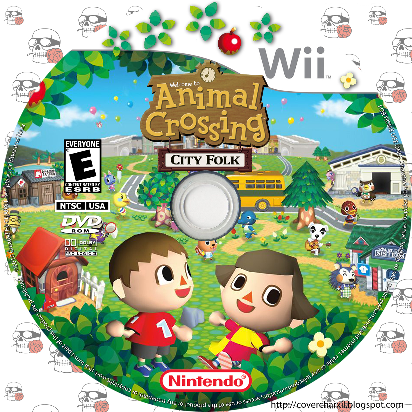Animal Crossing: City Folk (wii)