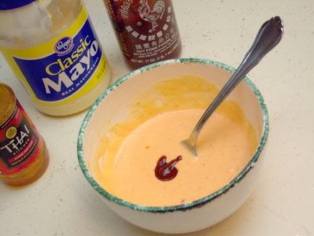 Bang Bang Sauce Recipe ingredients