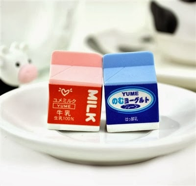 food and drink erasers at CoolPencilCase.com