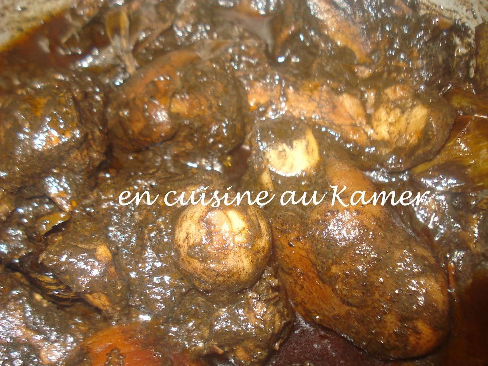 Mbongo de porc la cuisine camerounaise - Cuisine africaine camerounaise ...