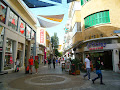 The famous promenade on Ledra Street for kids and parents - Nicosia