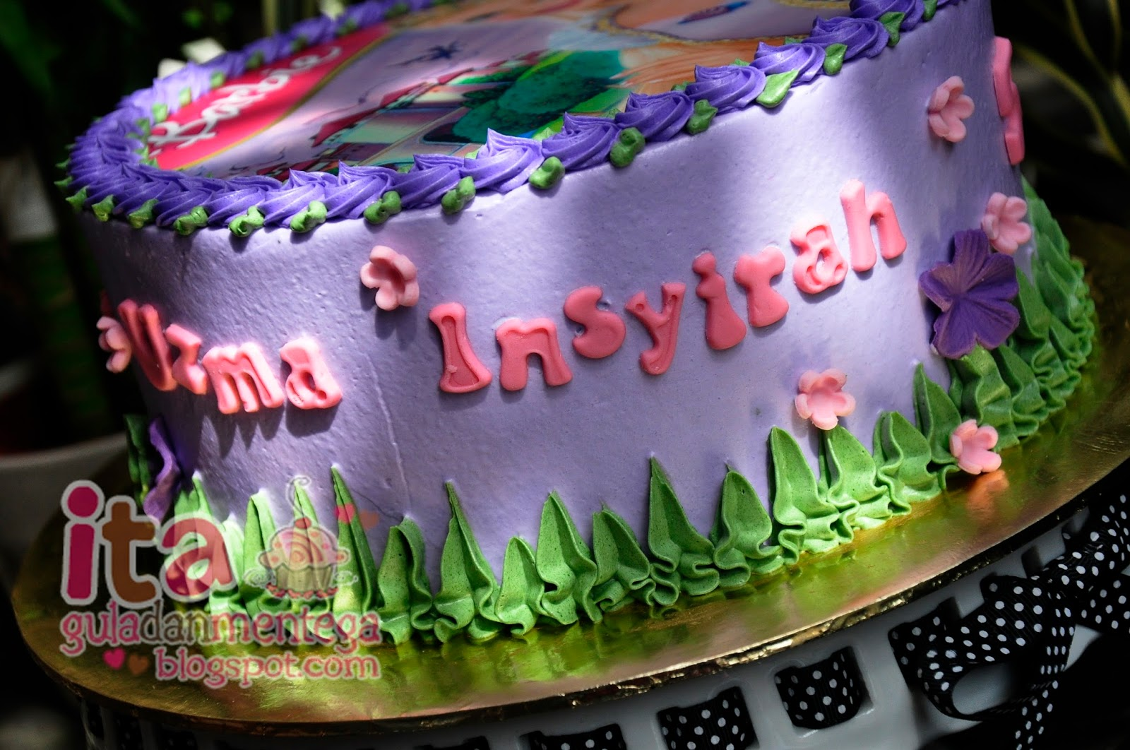 Gula Dan Mentega Birthday Cake Rapunzel
