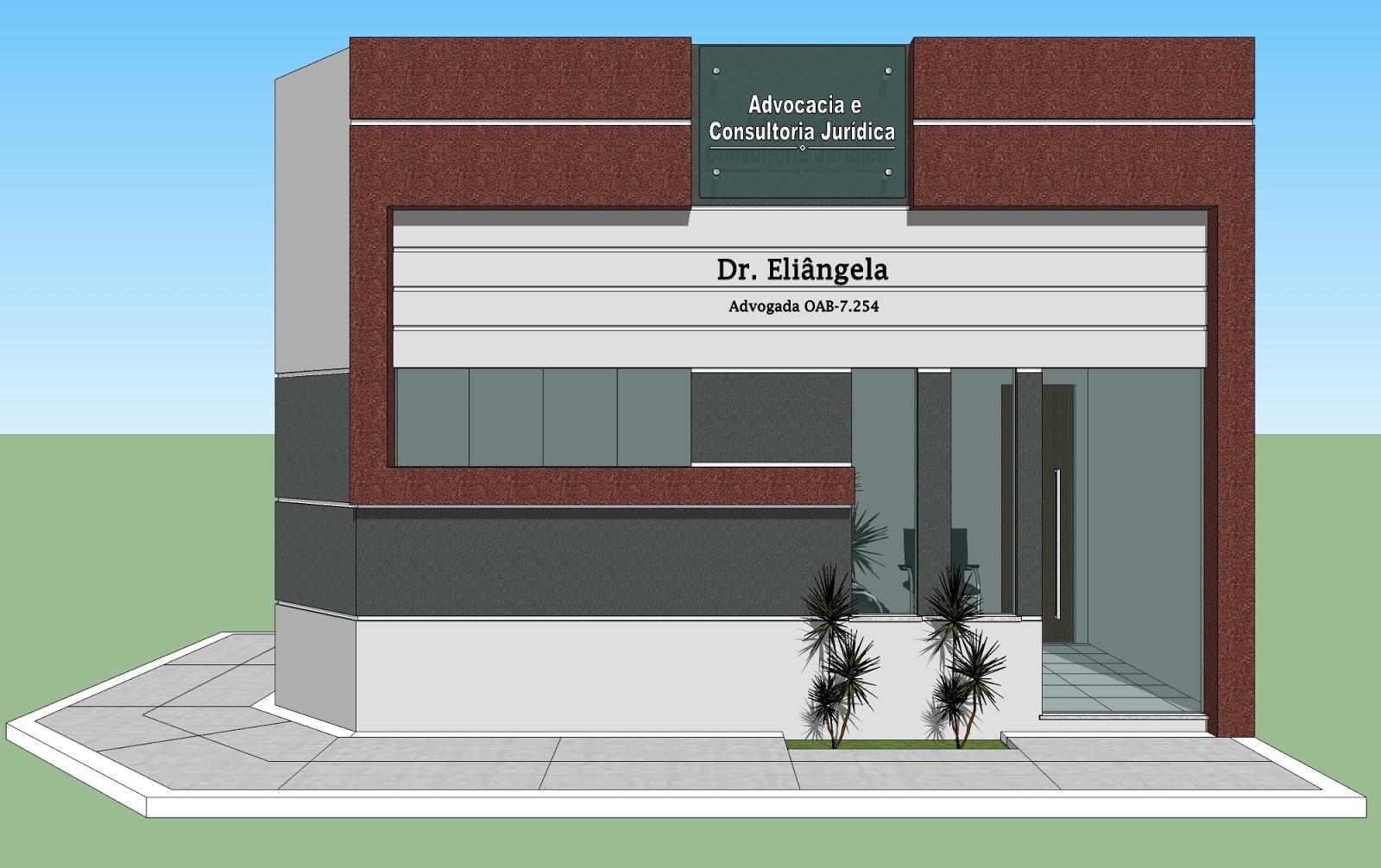 Arquitetura: Escritório de Advocacia em Porteirinha Minas Gerais #087DC3 1600x1006