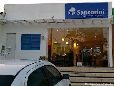 Santorini Café: Fachada